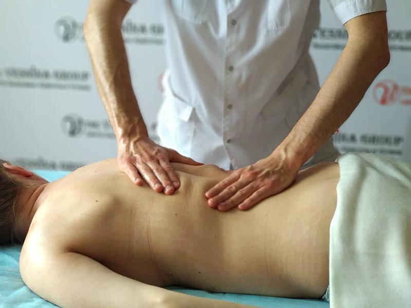 Действие массажа на функциональное состояние организма