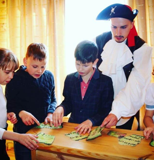 Федорченко Павел - актер театра анимации