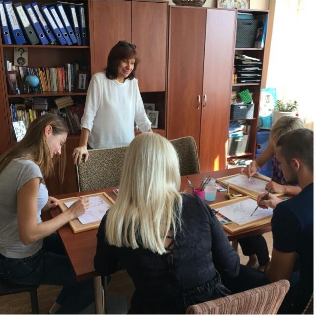 Базовые занятия по АРТ-терапии
