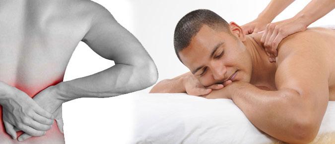 Масаж при болі в спині