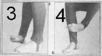Комплекс упражнений от плоскостопия