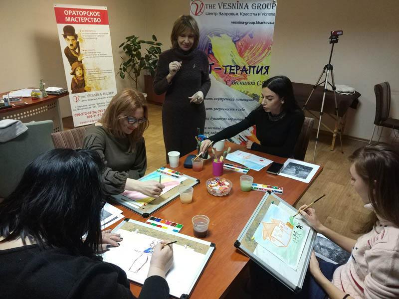 АРТ-терапиЯ для женщин