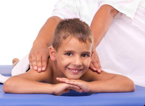 Лечебный массаж для детей