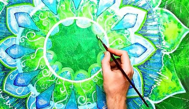 Арт-терапія в Харкові: малювання мандал