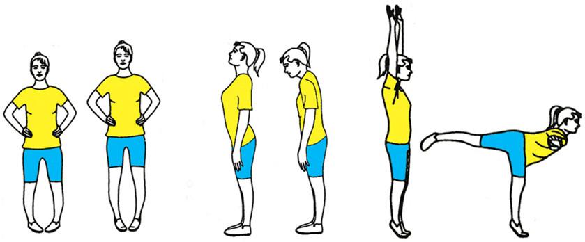 Упражнения стоя против варикоза
