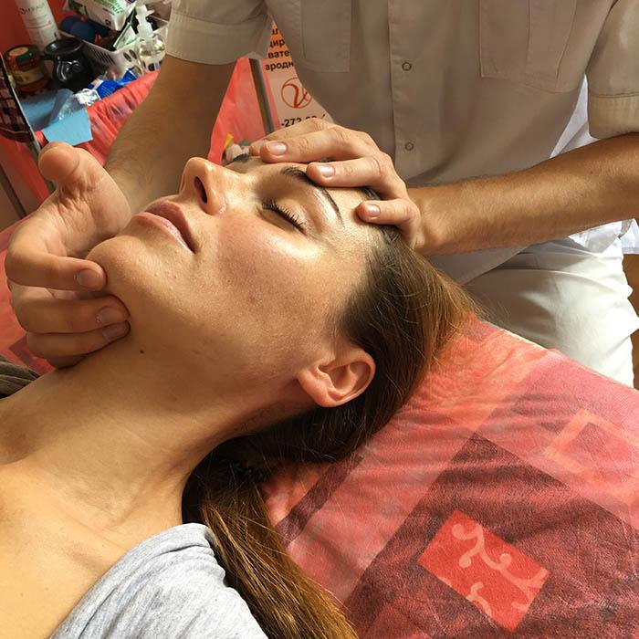 Остеопатическая коррекция лица