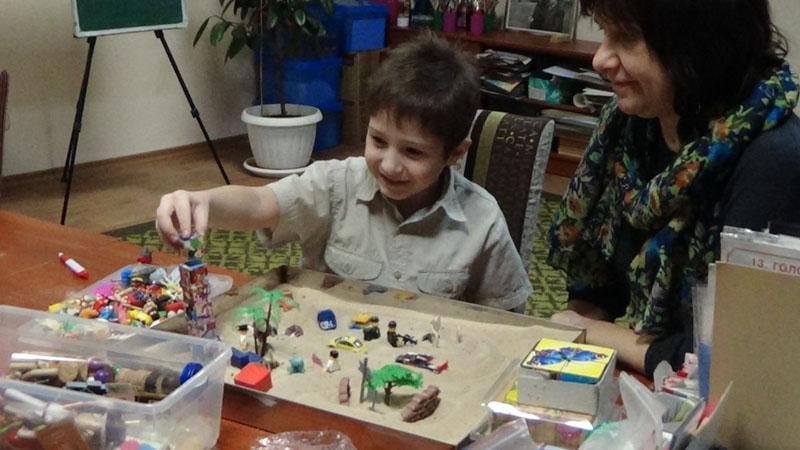 Пісочна арт-терапія для дітей