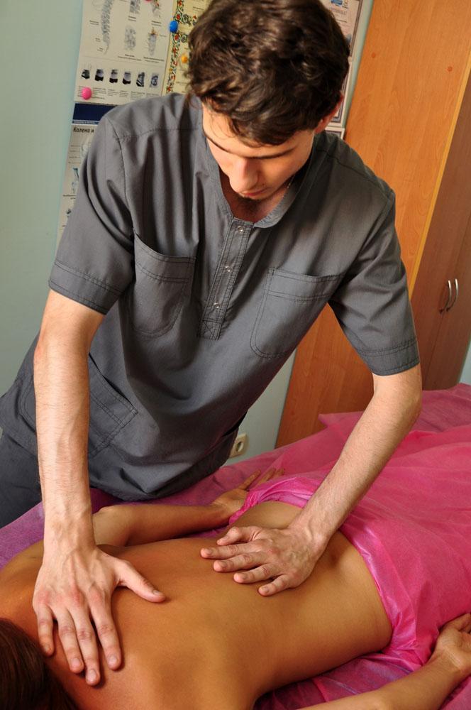 Секс фото на массаже