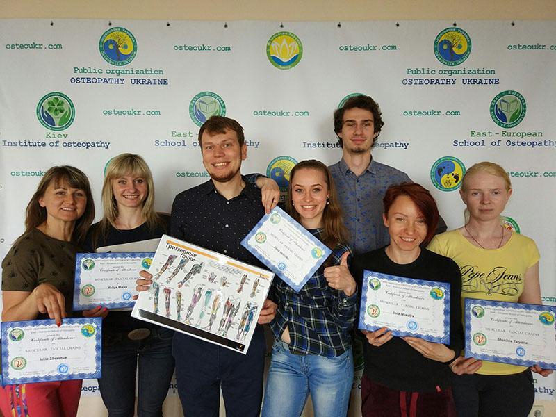 Выпускники семинара Мышечно-фасциальные цепи