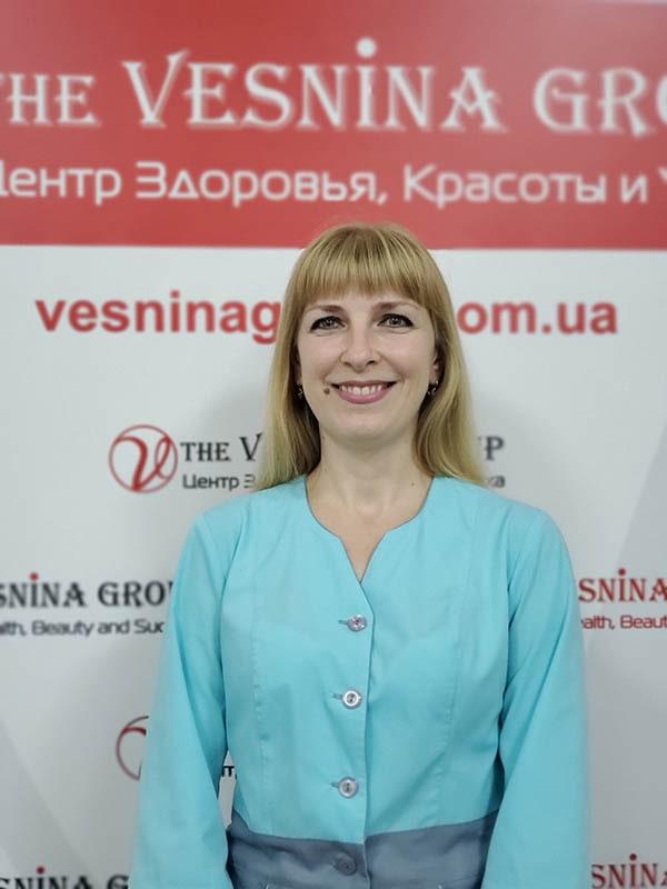 Сивак Наталья - квалифицированный массажист, мастер коррекции фигуры