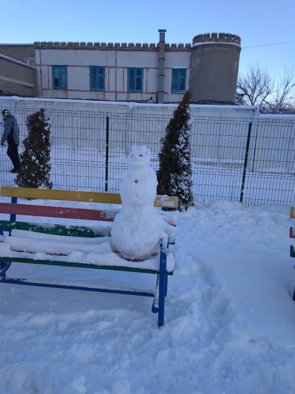 Арт-терапия зимой