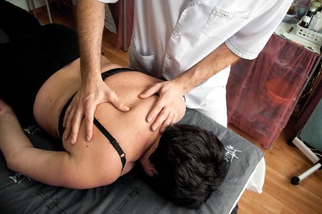 Остеопатический лечебный массаж