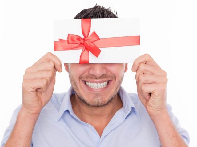 Подарункові сертифікати для чоловіків