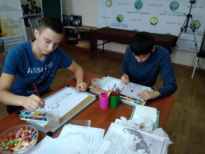 Занятие с подростками Решение конфликтов с помощью арт-терапии