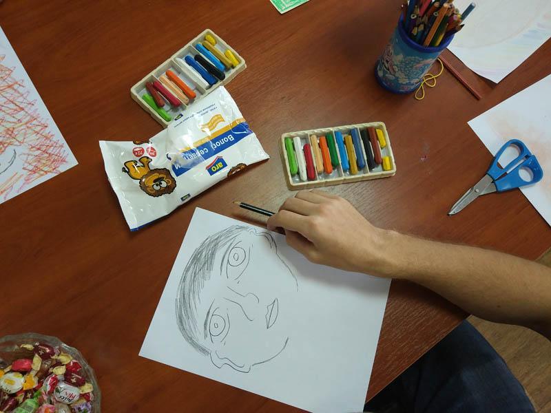 Заняття з арт-терапії Творимо дурниці