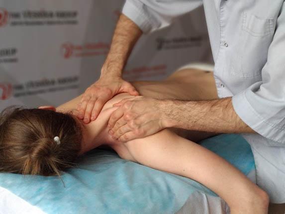 Лечебный массаж в Харькове