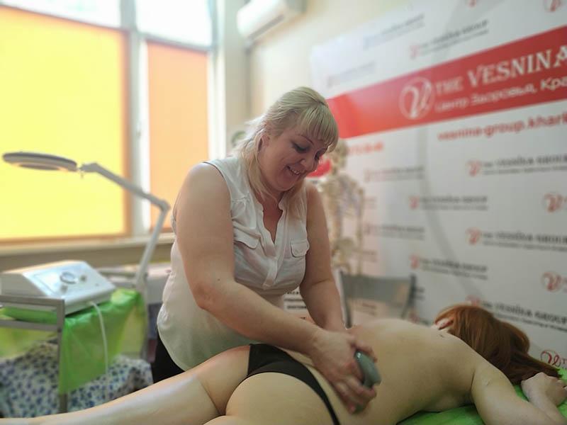 Семинар-практикум: Вакуумно-роликовый массаж
