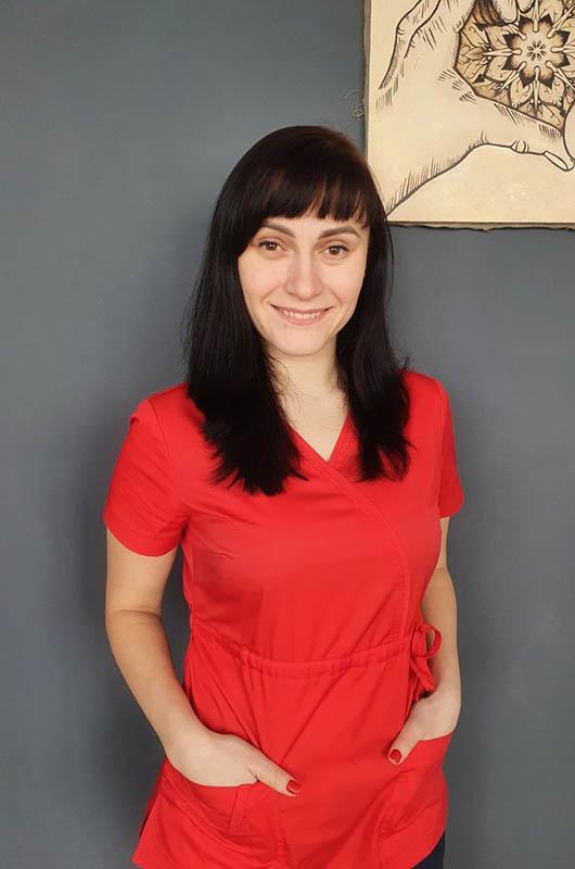 Лысюк Анастасия Танасиивна - массажист и краниосакральный терапевт с опытом работы 4 года
