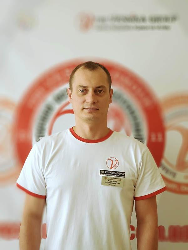Стремезловский Александр - квалифицированный массажист